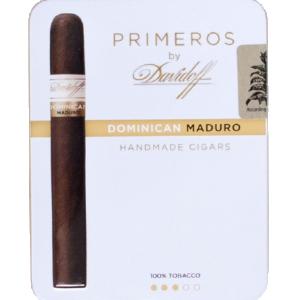 Davidoff Cigarillos Primeros Dominican Maduro Tins