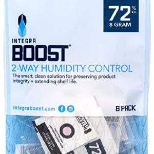 Integra Boost 72-Percent 8 grams RH 2-Way Humidity Control