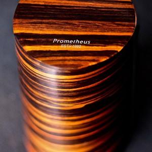 prometheus round humidor Macassar Ebony  H-Round/MC