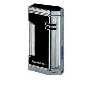 Prometheus Magma X 1 Black Lacquer Torch Flame Triple Jet Cigar Lighters